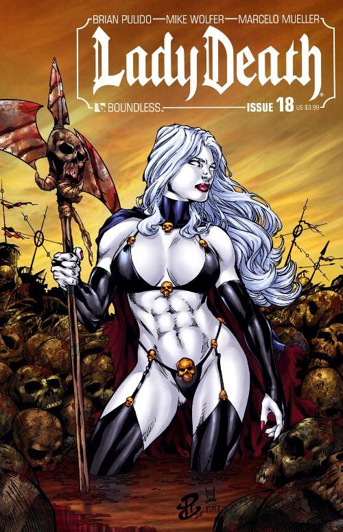 Couverture de Lady Death (2010) -18- Issue 18