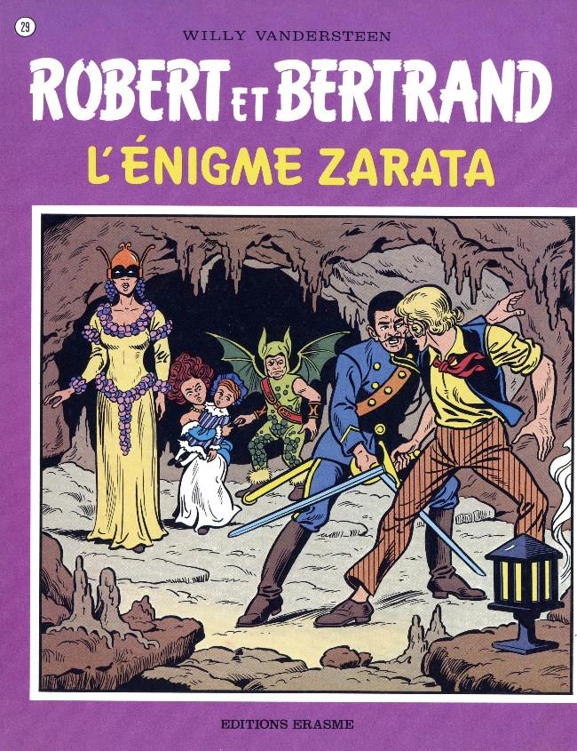 Couverture de Robert et Bertrand -29- L'énigme Zarata