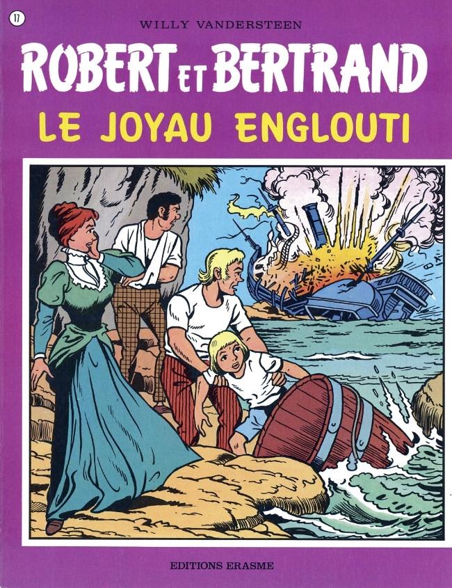 Couverture de Robert et Bertrand -17- Le joyau englouti