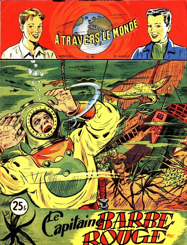Couverture de À travers le monde (2e série) -95- Le Capitaine Barbe-Rouge