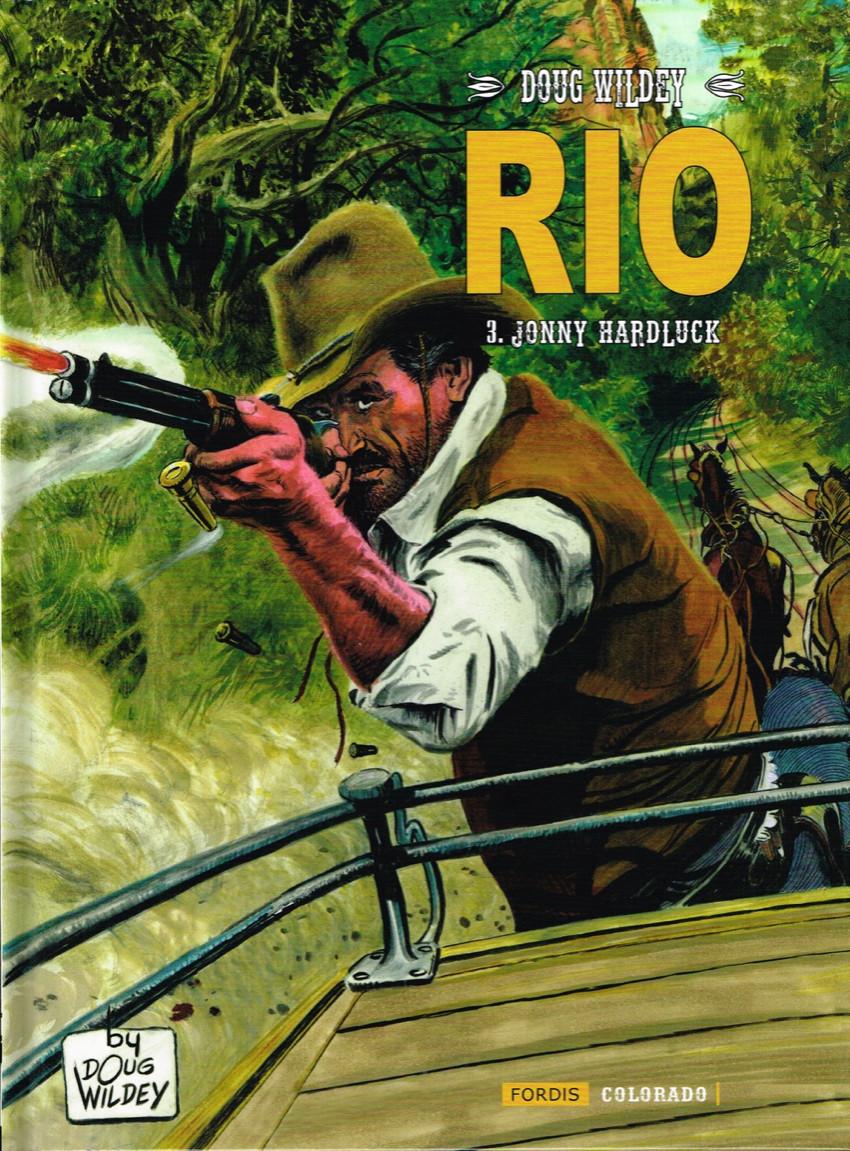 Couverture de Rio (Wildey) -3- Jonny Hardluck