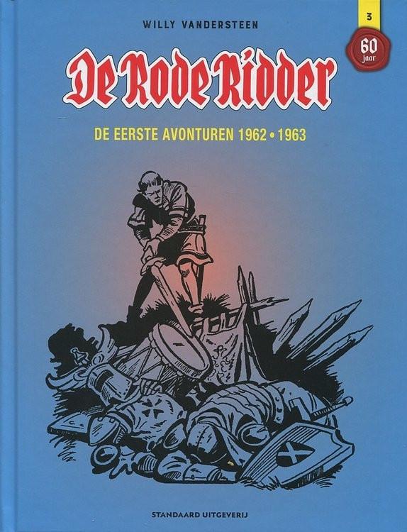 Couverture de Rode Ridder Integraal (De) -3- De eerste avonturen 1962-1963
