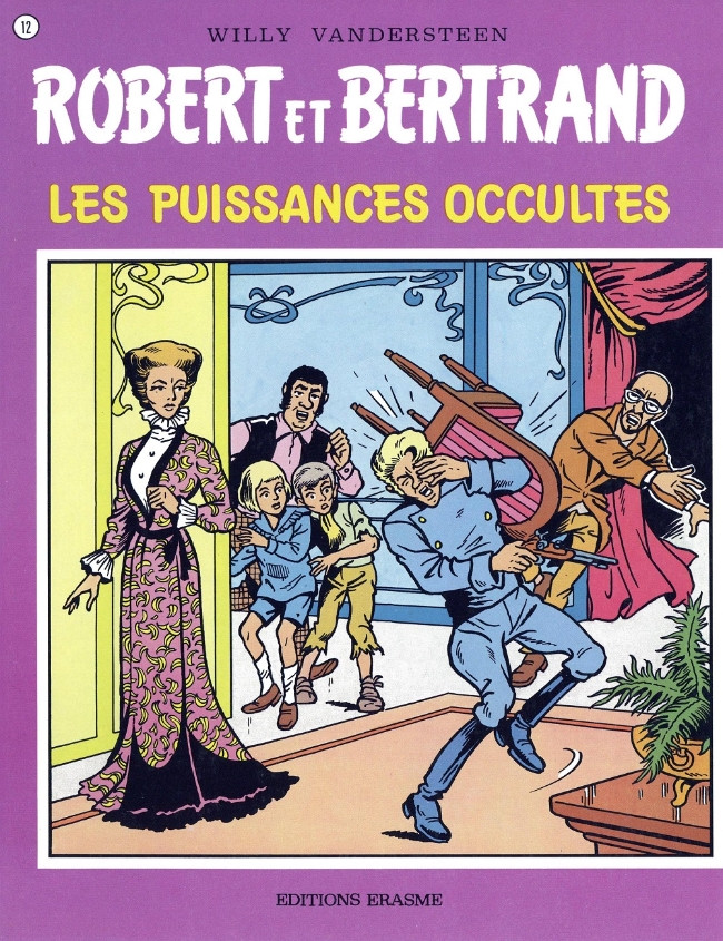 Couverture de Robert et Bertrand -12- Les puissances occultes