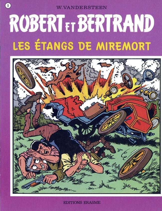 Couverture de Robert et Bertrand -9- Les étangs de Miremort