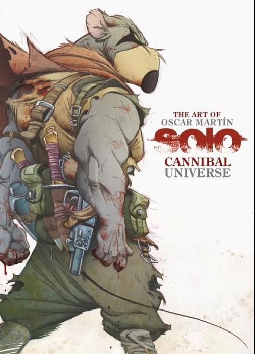 Couverture de Solo (Martín) -HS- Cannibal universe