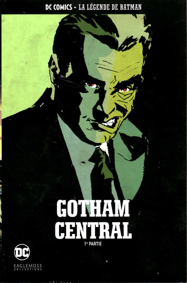 Couverture de DC Comics - La légende de Batman -HS07- Gotham Central - 1re partie