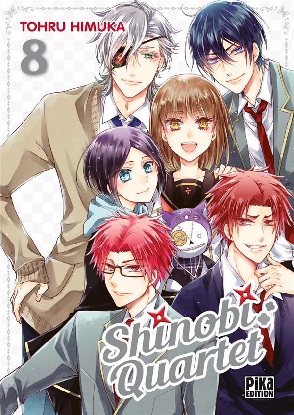 Couverture de Shinobi quartet -8- Tome 8