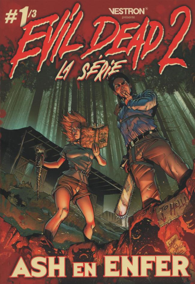 Couverture de Evil Dead 2 - la Série -1- Ash en Enfer