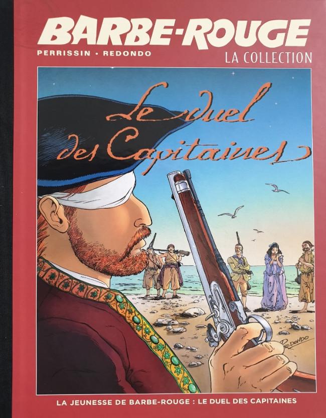 Couverture de Barbe-Rouge (Eaglemoss) -38- La Jeunesse de Barbe-Rouge - Le Duel des Capitaines