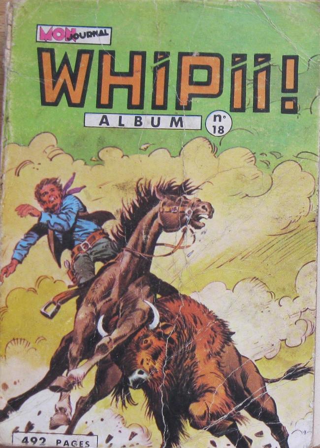 Couverture de Whipii ! (Panter Black, Whipee ! puis) -Rec18- Album N°18 (du n°50 au n°52)