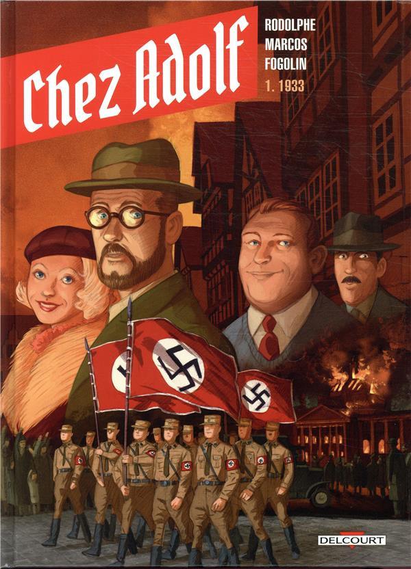 Couverture de Chez Adolf -1- 1933