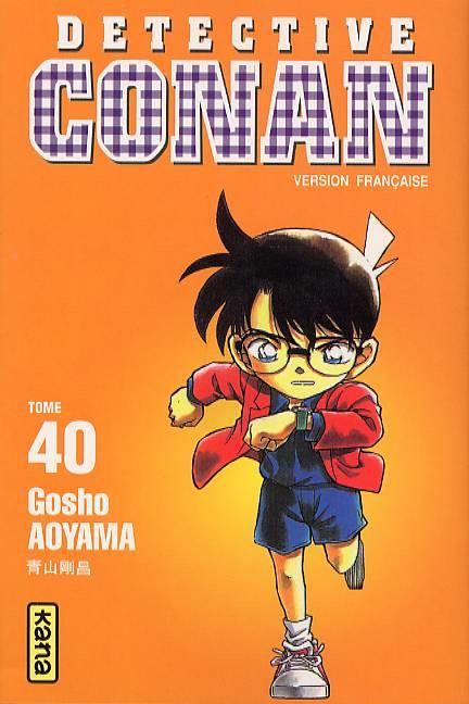 Couverture de Détective Conan -40- Tome 40