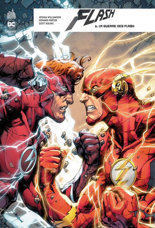 Couverture de Flash Rebirth -6- La Guerre des Flash
