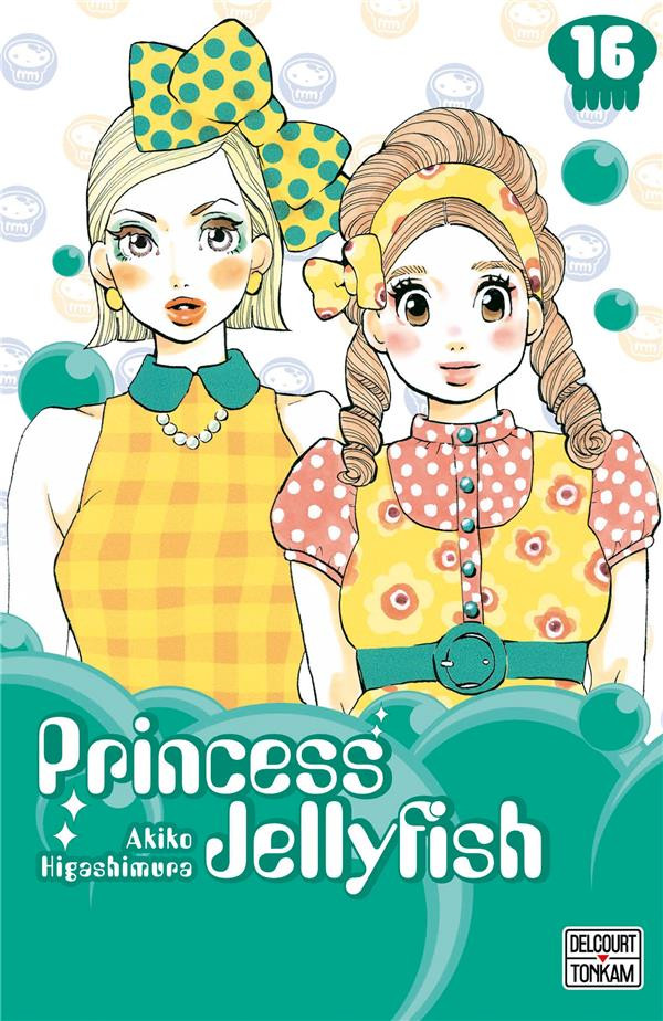 Couverture de Princess Jellyfish -16- Tome 16