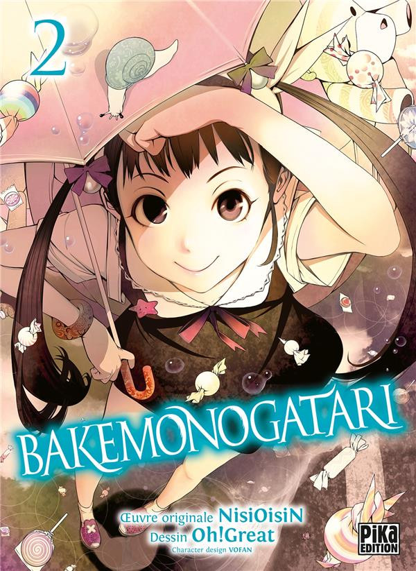 Couverture de Bakemonogatari -2- Volume 2