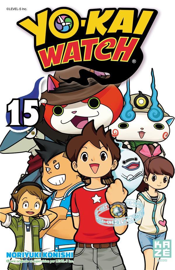 Couverture de Yo-Kai watch -15- Tome 15