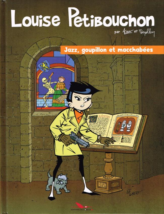 Couverture de Louise Petibouchon -2- Jazz, goupillon et macchabées