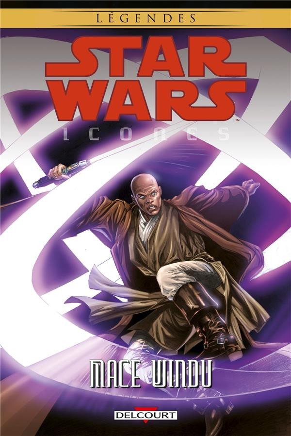 Couverture de Star Wars - Icones -9- Mace Windu