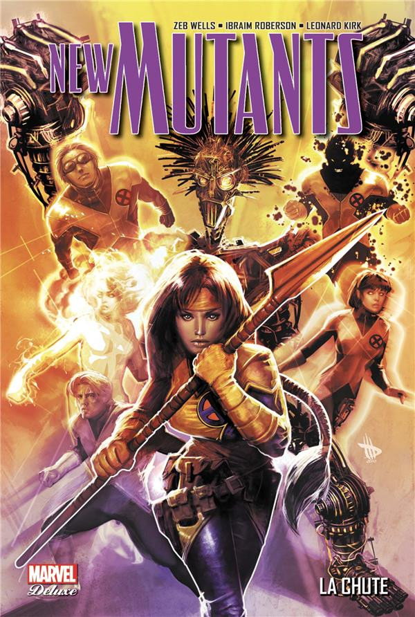Couverture de New Mutants (Marvel Deluxe) -2- La chute