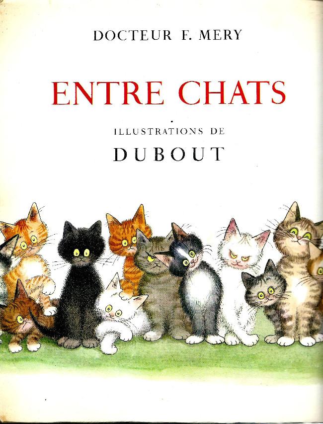 Couverture de (AUT) Dubout - Entre chats