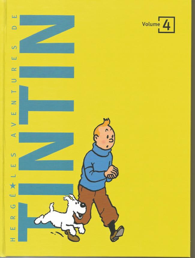 Couverture de Tintin (France Loisirs 2018) -4- Volume 4