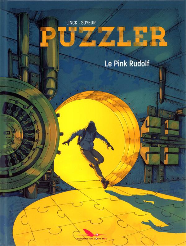 Couverture de Puzzler -1- Le Pink Rudolf