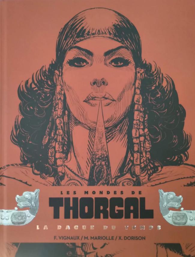 Couverture de Thorgal (Les mondes de) - Kriss de Valnor -Int 7-8- La Dague du Temps