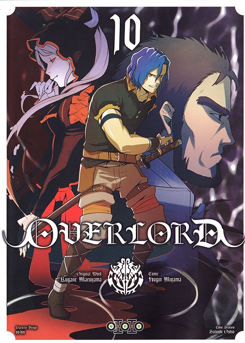 Couverture de Overlord (Oshio/Miyama) -10- Tome 10