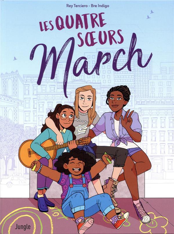 Couverture de Les quatre sœurs March