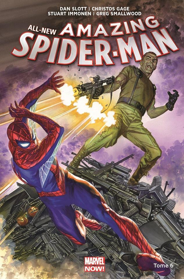 Couverture de All-New Amazing Spider-Man (Marvel Now!) -6- L'identité d'Osborn