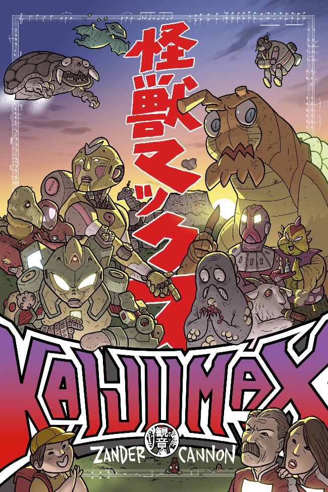 Couverture de Kaijumax -1- Livre 1