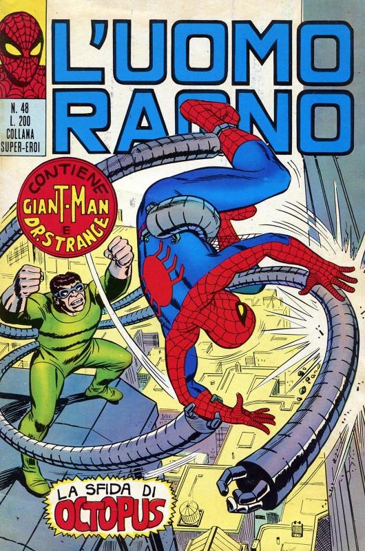 Couverture de L'uomo Ragno (Editoriale Corno) V1 -48- La Sfida di Octopus