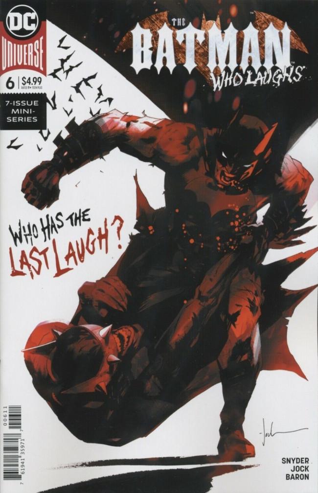 Couverture de Batman Who Laughs (The) (2019) -6- The Batman Who Laughs, Part Six
