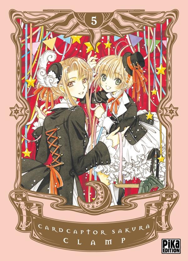 Couverture de Card Captor Sakura -INT.TL5- Edition Deluxe - Tome 5