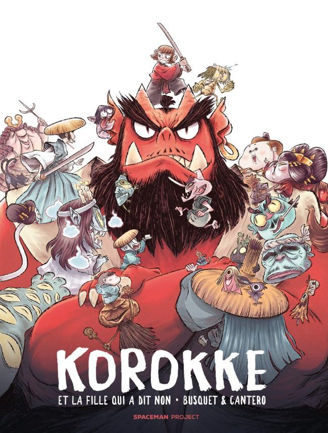 Couverture de Korokke et la fille qui a dit non