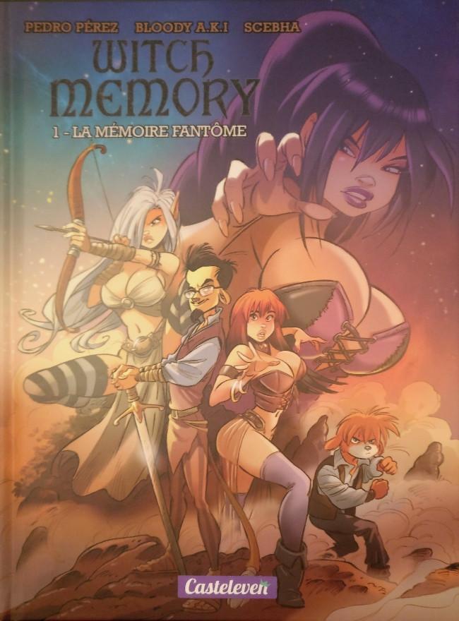 Couverture de Witch Memory -1- La Mémoire Fantôme