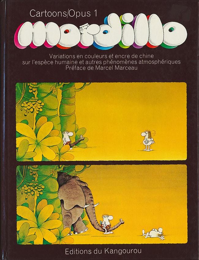Couverture de Mordillo Opus -0- Cartoons/Opus 1