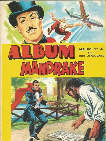 Couverture de Mandrake (1re Série - Remparts) (Mondes Mystérieux - 1) -Rec37- Album n°37 (du n°367 au n°372)