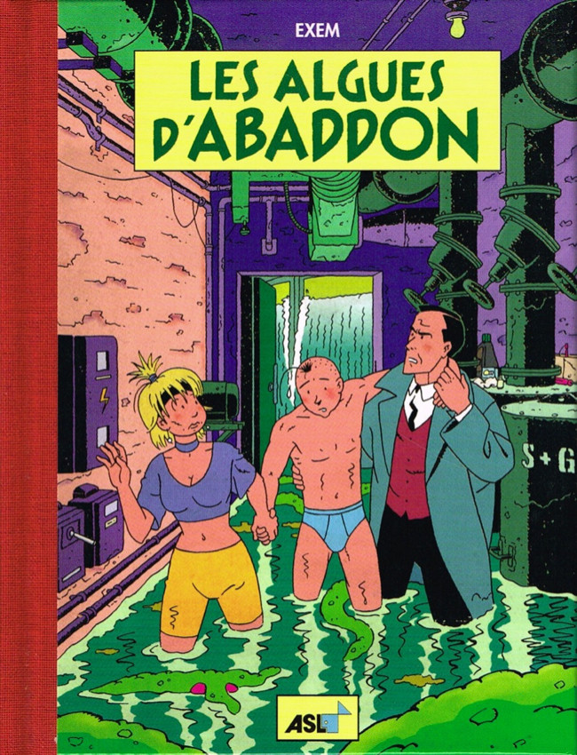 Couverture de Percelot (Les aventures de) -4- Les algues d'Abaddon