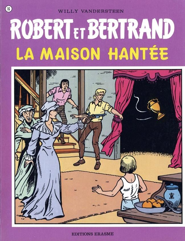 Couverture de Robert et Bertrand -16- La maison hantée