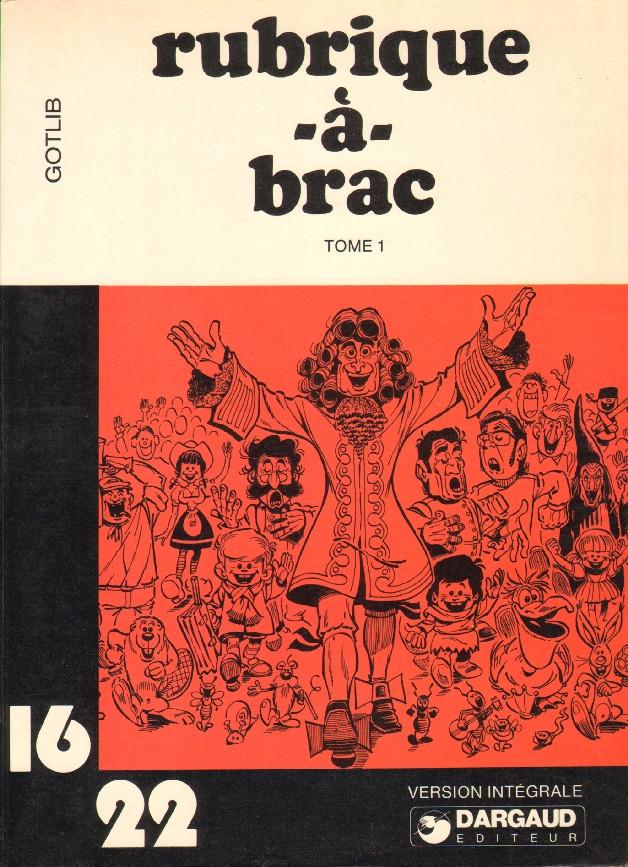 Couverture de Rubrique-à-Brac (16/22) -16- Tome 1 (I)