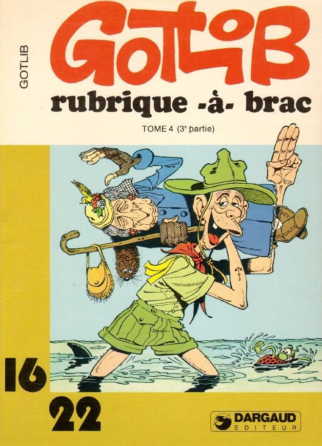 Couverture de Rubrique-à-Brac (16/22) -9108- Tome 4 (III)