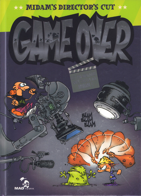 Couverture de Game over -Compil- Midam's Director's Cut