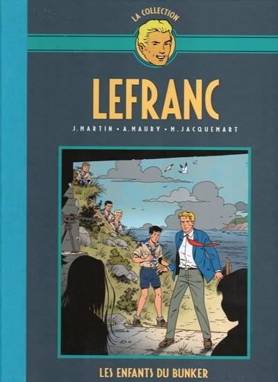 Couverture de Lefranc - La Collection (Hachette) -22- Les enfants du bunker