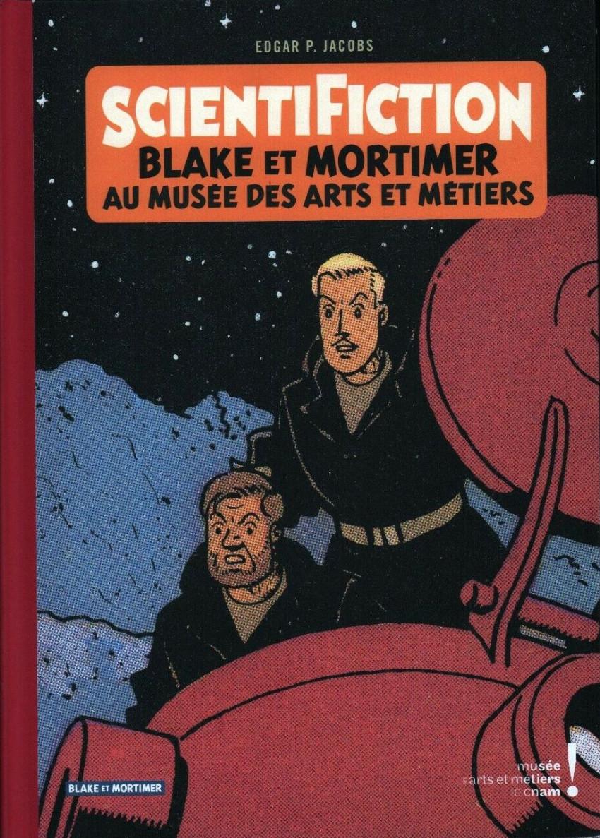 Couverture de Blake et Mortimer (Divers) - Scientifiction - Blake et Mortimer au musée des Arts et Métiers