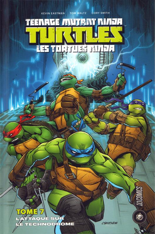 Couverture de Teenage Mutant Ninja Turtles - Les Tortues Ninja (HiComics) -7- L'attaque sur le technodrome