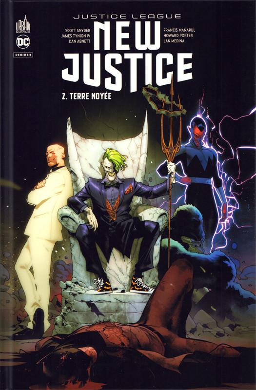Couverture de Justice League : New Justice -2- Terre noyée