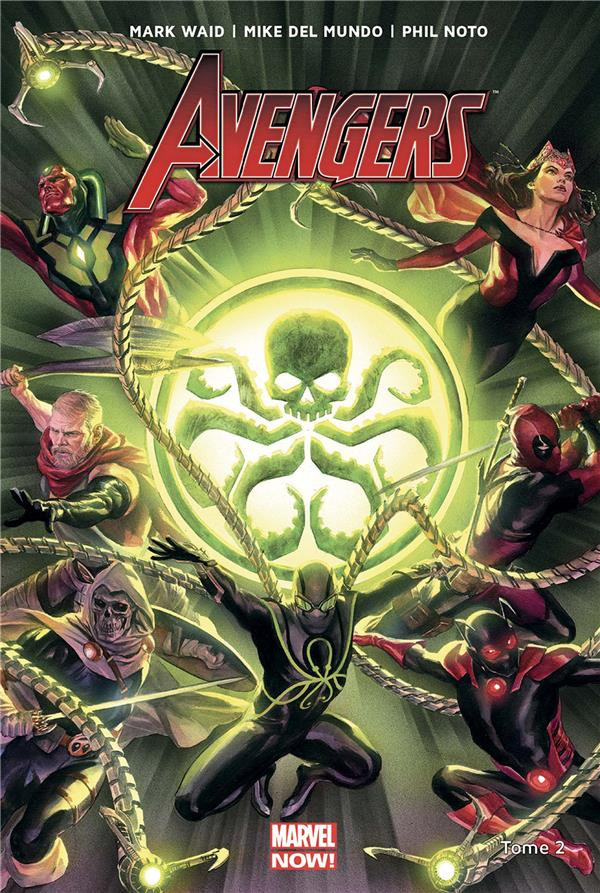 Couverture de Avengers (Marvel now!) (2018) -2- Secret empire