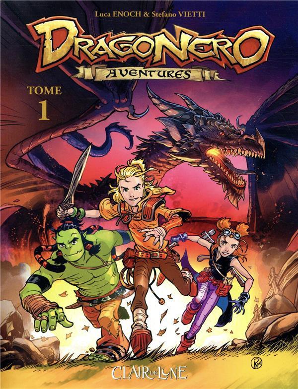 Couverture de Dragonero aventures -1- Tome 1