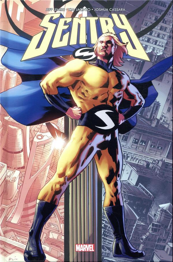 Couverture de Sentry (100% Marvel) - L'homme de deux mondes